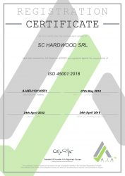 CERTIFICAT - HARDWOOD - 45001 2019-2022-page-001