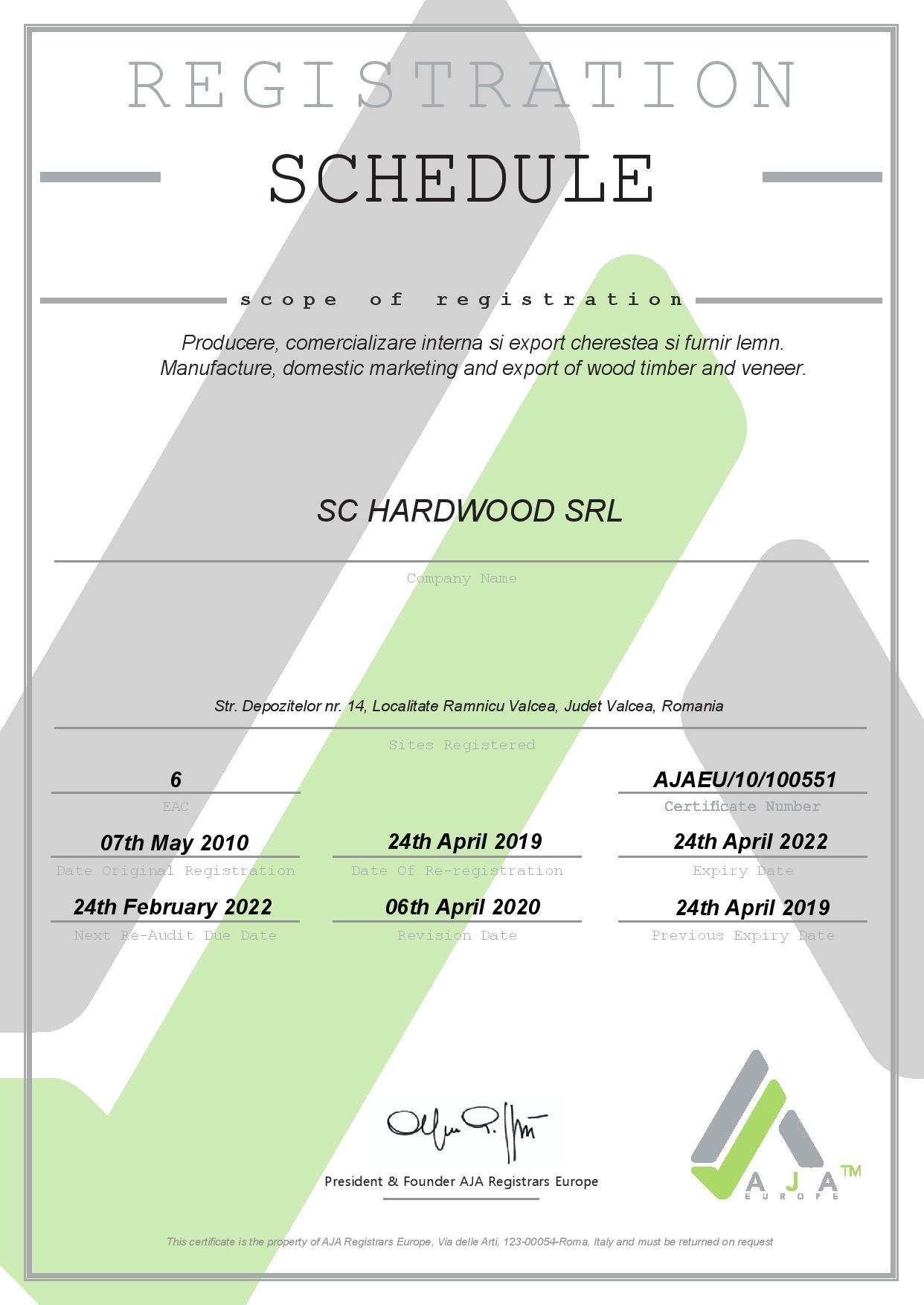CERTIFICAT - HARDWOOD - 45001 2019-2022-page-002